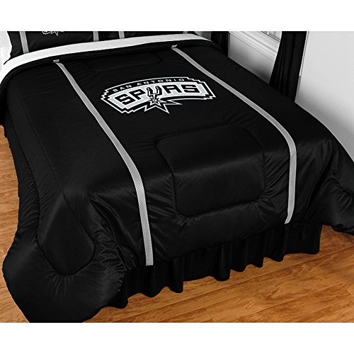 San Antonio Spurs SIDELINES Full / Queen Jersey Material - Full Bed Sidelines Jersey