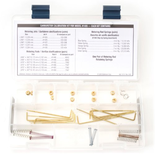 Edelbrock 1479 Performer Series Carburetor Calibration Kit - Edelbrock Performer Kit