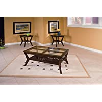 Standard Furniture Norway Coffee Table, Brown, 3-Pack