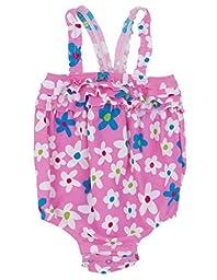 Hatley   Baby Baby Girls\' One Piece Swim Suit Summer Garden, Pink, 6 12 Months
