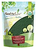 Organic Spirulina Powder, 4 Pounds - Non-GMO, Raw Blue-Green Algae, Vegan Superfood, Bulk, Non-Irradiated, Pesticide-Free, Pure Vegan Green Protein, Rich in Vitamins and Minerals, Great for Drinks