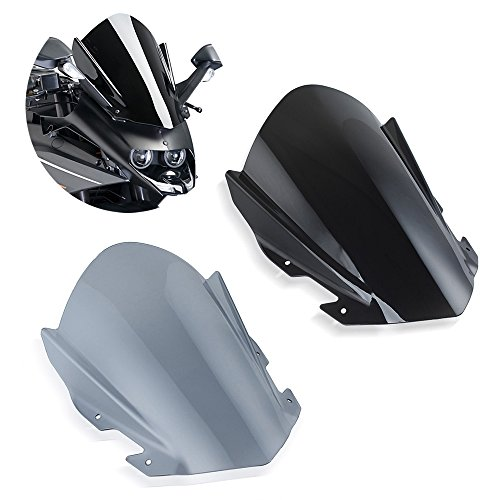 For KTM RC125 RC200 RC390 Smoke Windscreen Double Bubble Windshield 2014-2018