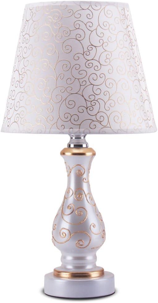 Lámpara de Mesa Decorativa Creativa Blanco lechoso con líneas ...