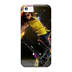 Durable Dancer Back Case/cover For Iphone 5c