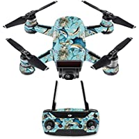 Skin for DJI Spark Mini Drone Combo - Island Fish| MightySkins Protective, Durable, and Unique Vinyl Decal wrap cover | Easy To Apply, Remove, and Change Styles | Made in the USA