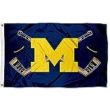 Cheap Michigan Wolverines Hockey Flag