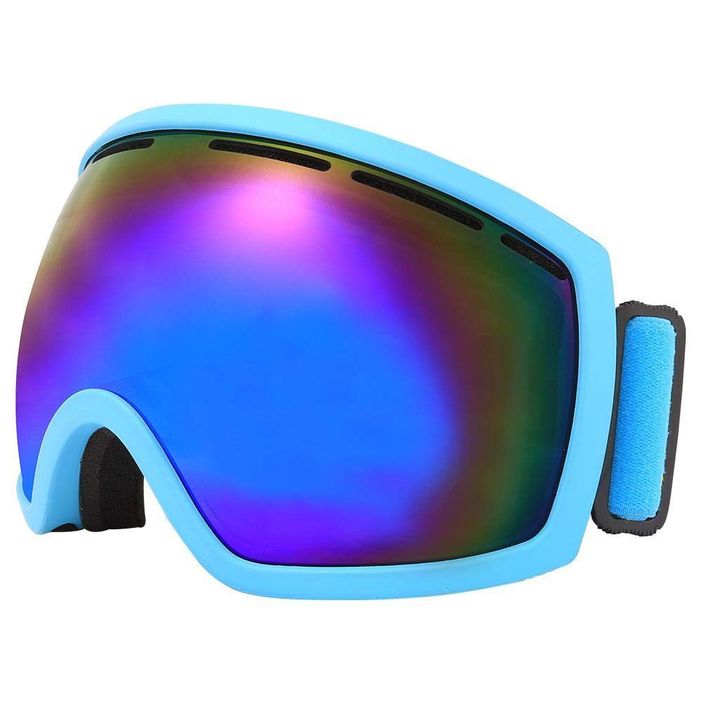 Y-YT Gafas de Deporte Gafas de esquí esférico Doble Capa Anti-empaños Viento Gafas de montaña al Aire Libre