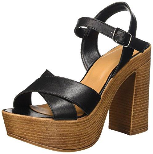 BATA 7646511, Sandalias para Mujer Negro (Nero)