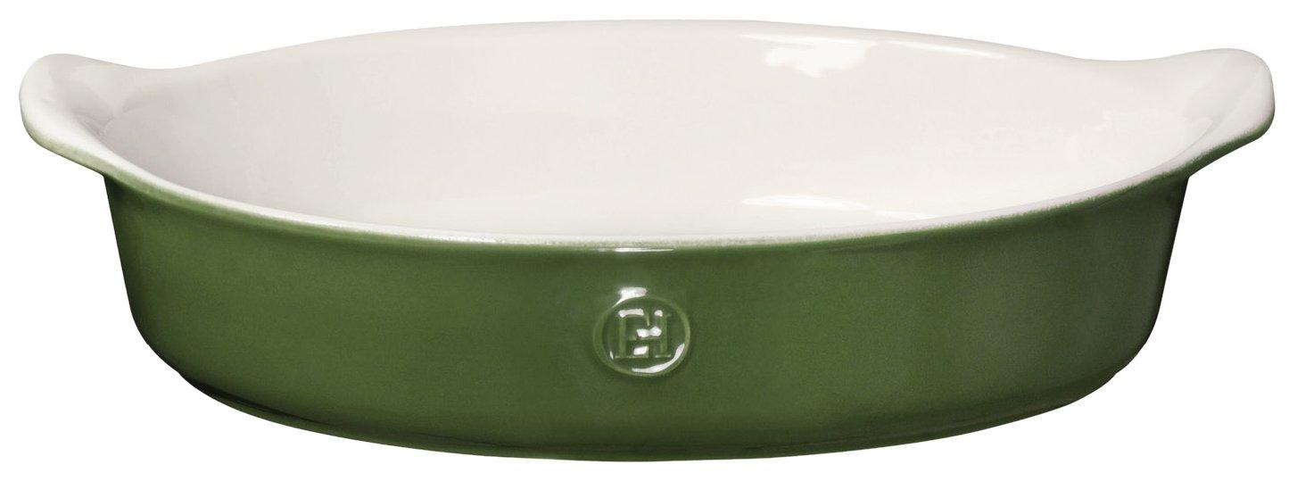 Emile Henry 629029 HR Ceramic Individual Oval Baker, Spring