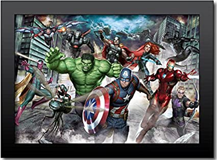 Amazon.com: Marvel 27W4AV4‐NDV Avengers Gallery Group 23\