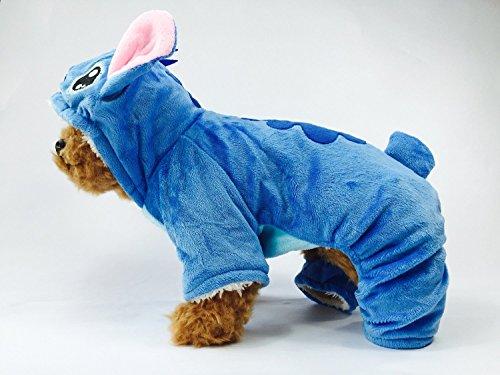 Comfy Stitch Dog Costume Sherpa Jumpsuit