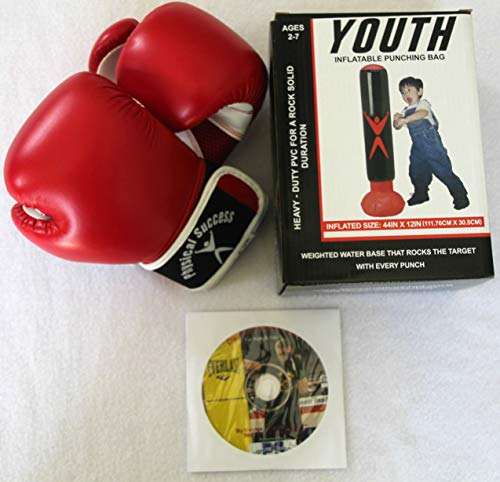 s Inflatable Punching Bag with Kids 2oz Boxing Gloves, and DVD Inflatable Punching Bag Instructions. ()