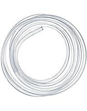 Kesote 7mm (diámetro Interior) x 9mm (diámetro Exterior) Tubo Flexible de PVC, Tubo Transparente de 3 Metros Ideal para Tanque y Acuario