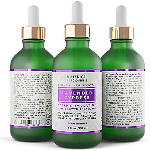 Anti Hair Loss Scalp Treatment Alopecia Postpartum DHT Blocker Lavender -...