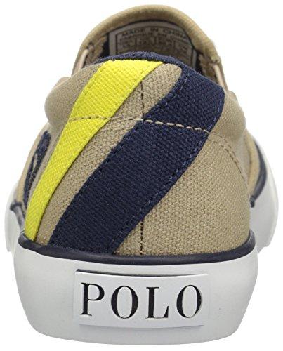 Kid Beige Lauren Boy E6264 Canvas Ralph Scarpe Sneaker Shoe Slip on Beige Polo Bimbo OadwxdHqP