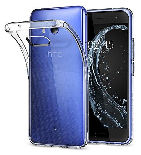 (Spigen Liquid Crystal Designed for HTC U11 Case (2017) - Crystal Clear)