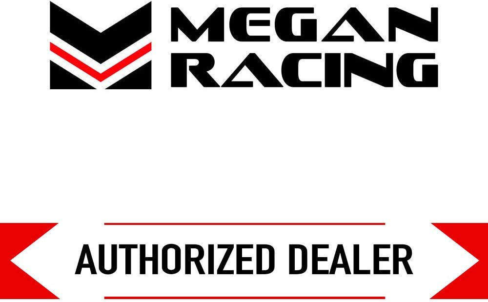 Megan Racing MR-MU-OVA 2.5 Inlet 3.5x2.5 Dual Oval Stainless Steel Tips