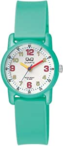 Q&Q Girls White Dial Silicone Band Watch
