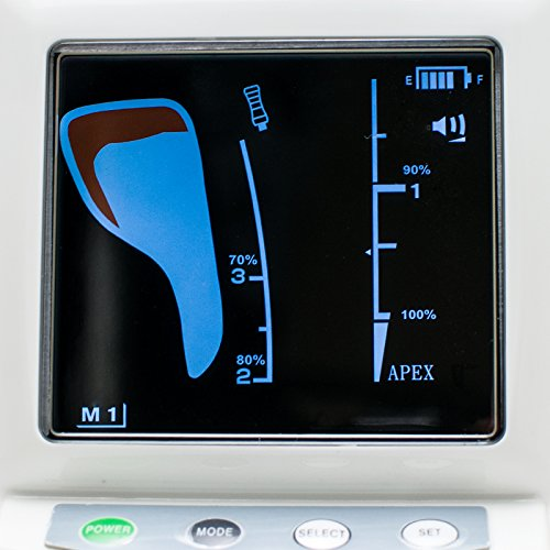 Zinnor (Shipping from US) Dental Endodontic Colorful LCD Screen Apex Locator Root Canal Meter