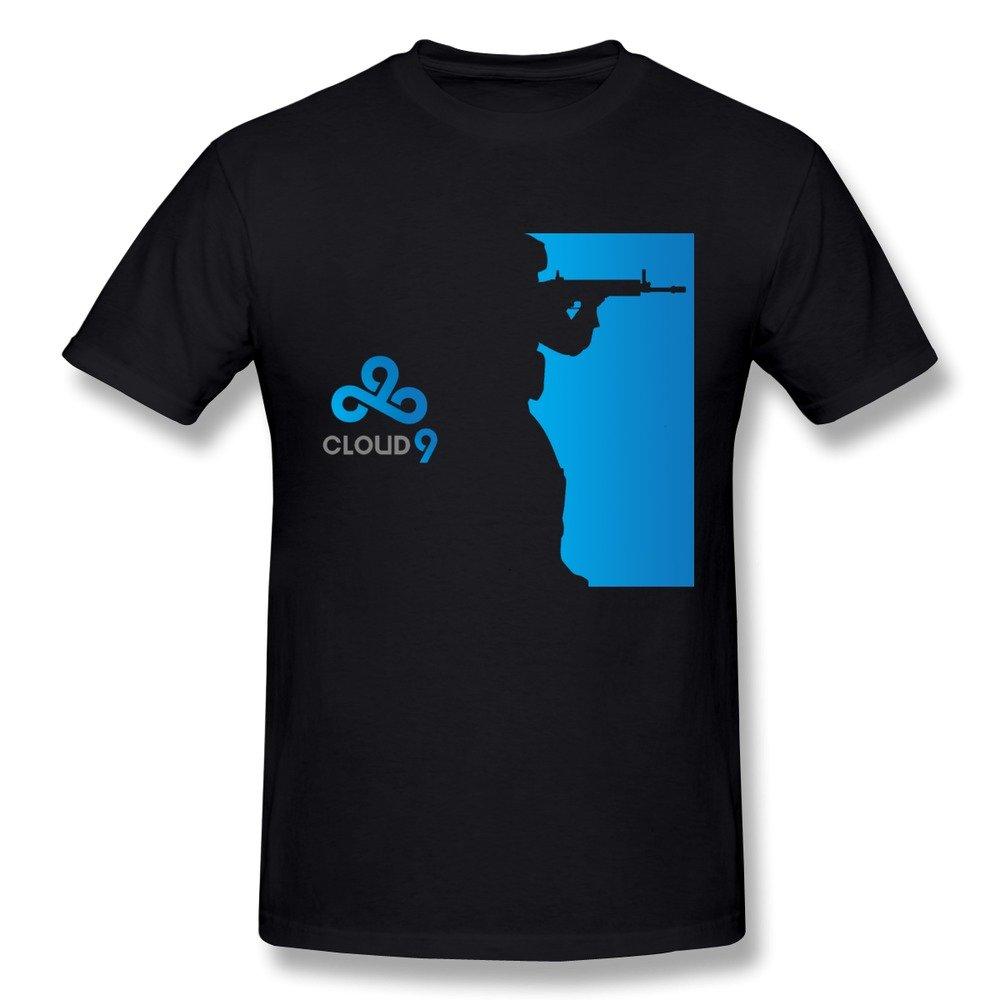 Suamdan S Cloud 9 Gaming Csgo Lol T Shirt Black