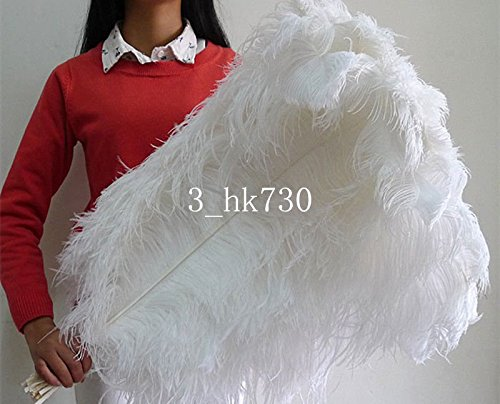 Wholesale! 10-100 pcs ostrich feathers 18-20 inch / 45-50 cm Wedding Set Party decoration household products Dance performance DIY -