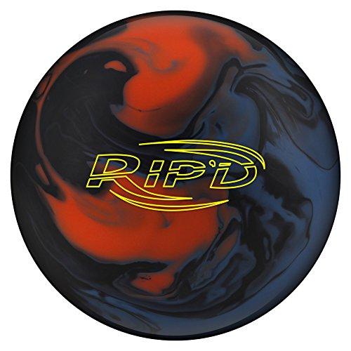Hammer RIP'D Solid Bowling Balls, Blue/Black/Orange, 12lbs