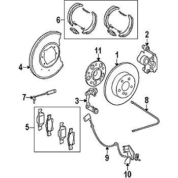 Amazon Com Mean Mug Auto 13518 231919a Abs Wheel Speed Sensor