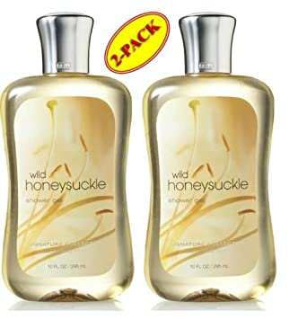 Bath Body Works Wild Honeysuckle Shower Gel 10 Oz SET of TWO