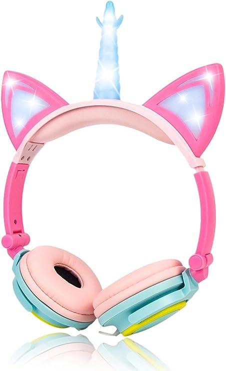 Limson Einhorn Kopfhörer Stereo Kopfhörer 3 5 Mm Elektronik