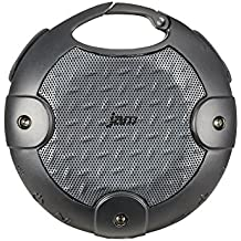 JAM Xterior Rugged Wireless Bluetooth Speaker, Dust Proof, Drop Proof, Waterproof, IP67 Rating, Built-in Speakerphone, Integrated Clip and Screw Mount to hang and Mount on Bike, HX-P480BK Black