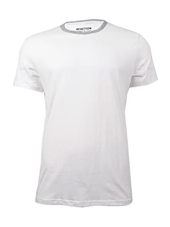 1a3d2ec3d4 Kenneth Cole Mens Small Basic Tee T-Shirt Cotton White S
