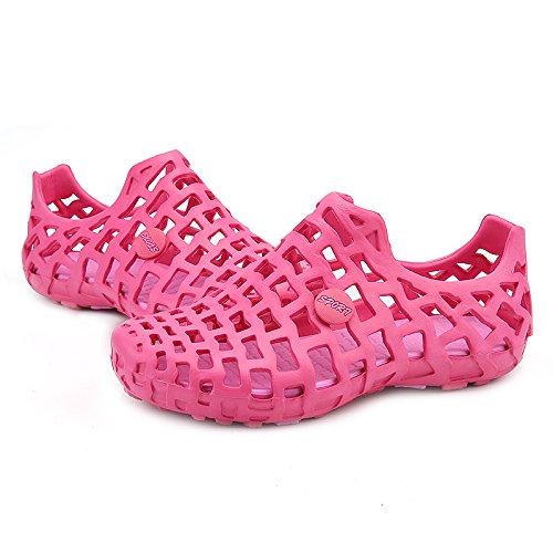 Out Trous Sandales 9 Plage Respirantes Gris Rose Hommes Trou Été amp; Creux Bluelover Chaussures Femmes zXx0qw4xg