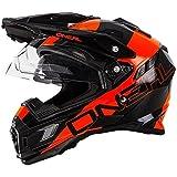 0815-202 - Oneal Sierra Adventure Edge Dual Sport Helmet S Black Orange by O'Neal