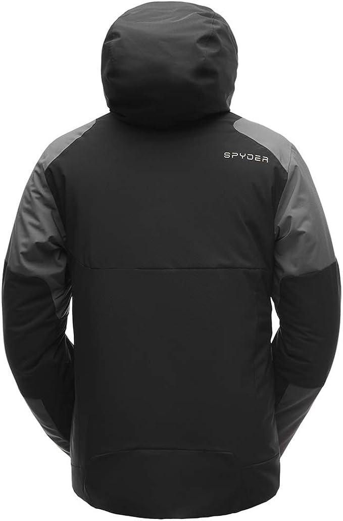 Spyder Mens Flywheel Gore-tex Ski Jacket X-Large Turkish Sea//Turkish Sea//Black