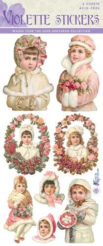 Violette Stickers Winter Rose Girls