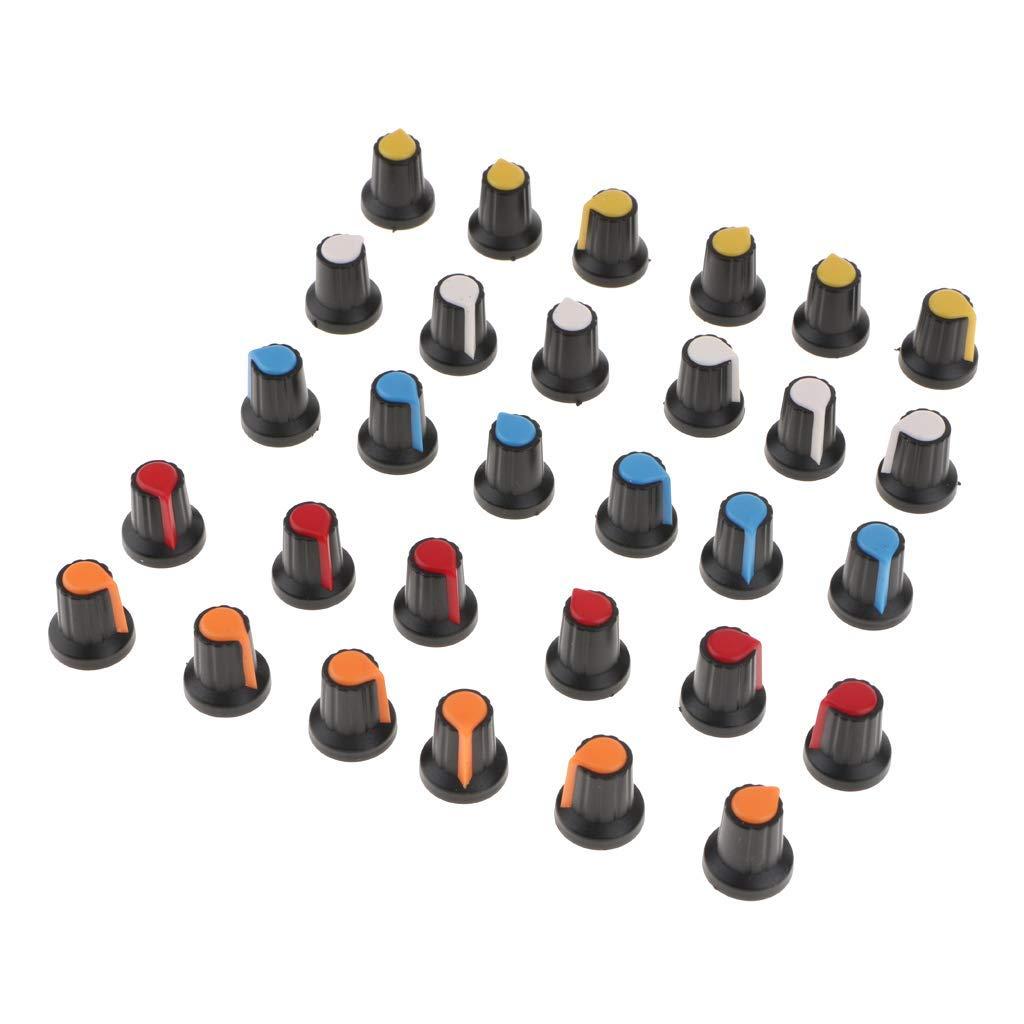 Lote de 30 botones de potenci/ómetro con deslizador Wh148 Ag2
