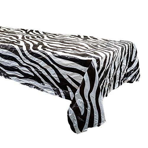 Zebra Table Covers (2), Zebra Party Supplies, Zebra Table -