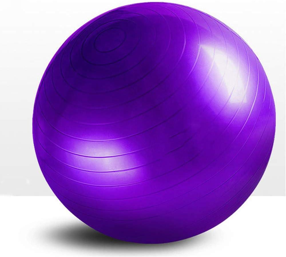 Daniel Yoga Ball, Sports Balón De Gym Ball, Antideslizante, Extra Grueso, Anti-Explosión, Estabilidad, con Gran Bomba Hinchable, para Fitness Embarazo Parto Fisio Equilibrio Pilates,3,55cm