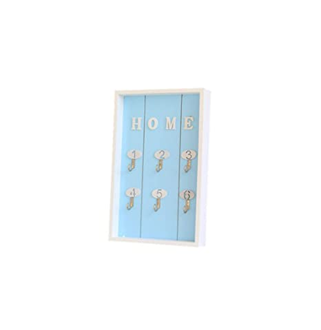 Amazon.com: Home Wall Decor - Llavero de madera hecho a mano ...