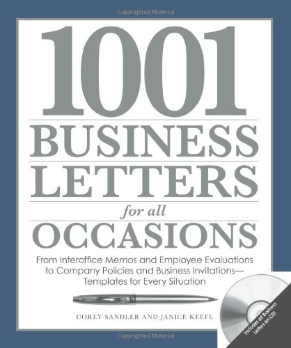 1001 letters for all occasions: the best models for every business.