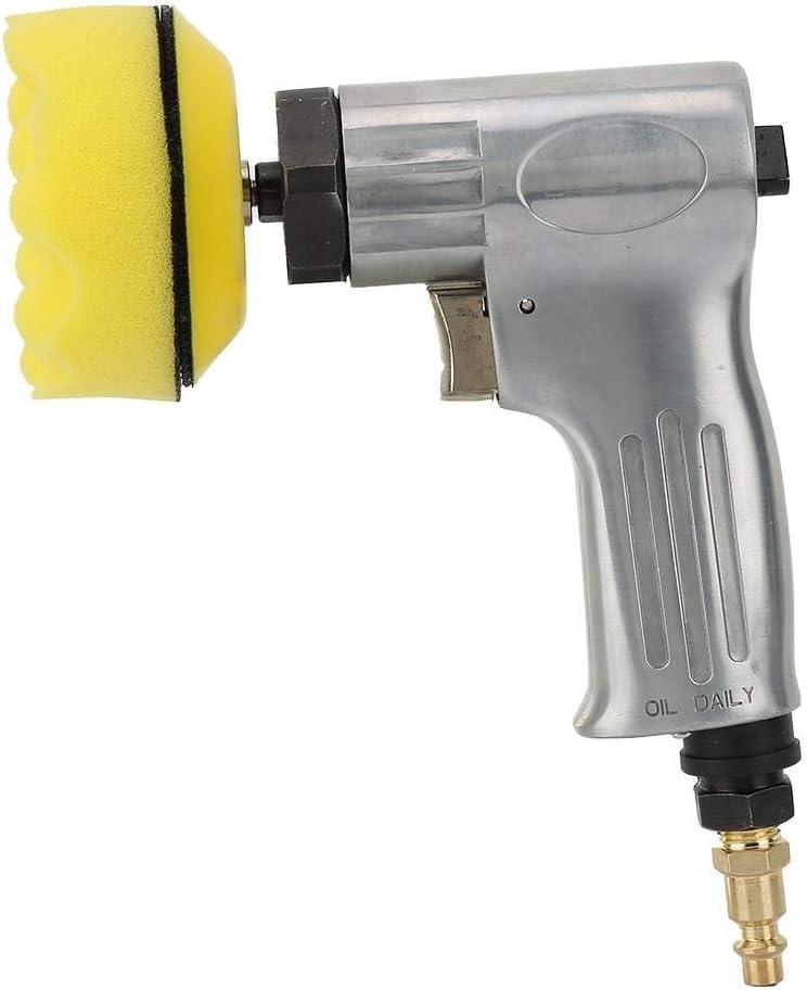 M/áquina pulidora neum/ática Lijadora Juego de m/áquina de aleaci/ón de aluminio Acero Hierro Amoladora de aire M/áquina de pulido
