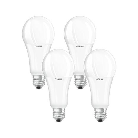 Osram 042926 Bombilla LED E27, 21 W, Blanco 4 Unidades