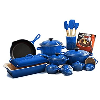 Le Creuset Marseille 20-piece Cookware Set
