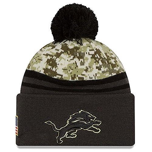 ... best price detroit lions new era 2016 nfl sideline salute to service sport  knit hat aa6e8 29e4f5b1f