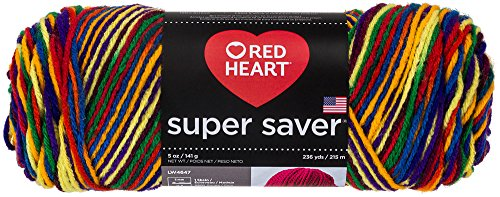 Red Heart 66399Super Saver Yarn, Mexicana Print