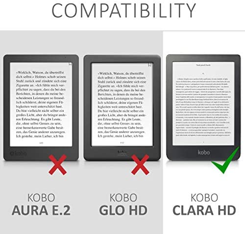 kwmobile Funda para Kobo Clara HD: Amazon.es: Electrónica