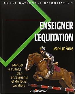 Enseigner l'equitation