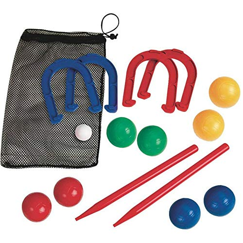 Aromzen Combo Horseshoes and Bocce