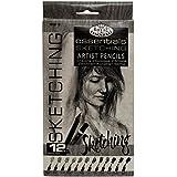 Royal & Langnickel Essentials Sketching Pencil Set, 12-Piece