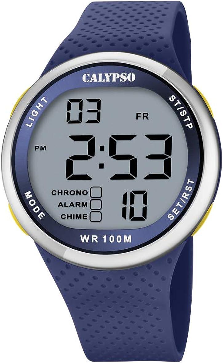 Calypso Reloj para de Cuarzo con Correa en plástico K5785/3